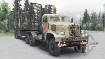 KrAZ 258Б for Spin Tires