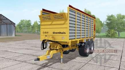 Veenhuis W400 soft orange for Farming Simulator 2017