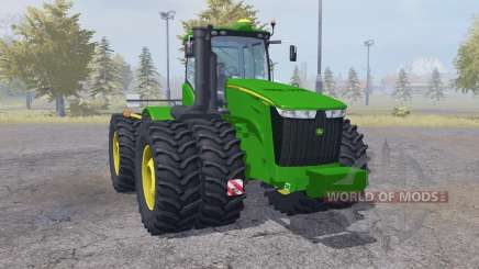 John Deere 9560R double wheels for Farming Simulator 2013