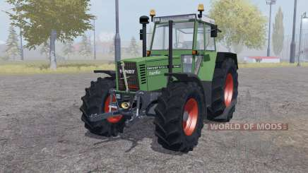 Fendt Favorit 615 LSA Turbomatic double wheels for Farming Simulator 2013