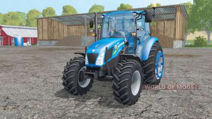 New Holland T4.75 interactive control for Farming Simulator 2015