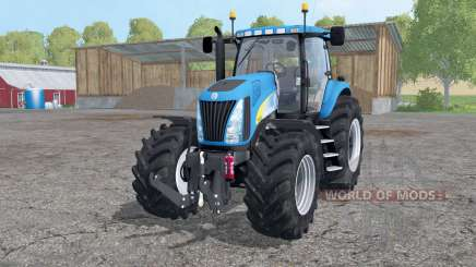 New Holland TG 285 wheels weights for Farming Simulator 2015