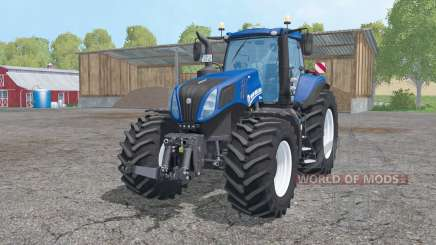 New Holland T8.420 animation parts for Farming Simulator 2015