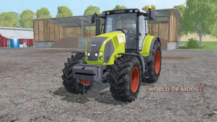 Claas Axion 830 loader mounting for Farming Simulator 2015