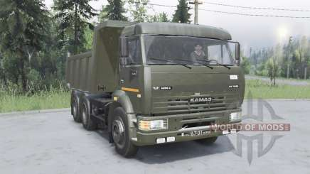 KamAZ 6520 for Spin Tires