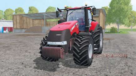 Case IH Magnum 380 double wheels for Farming Simulator 2015