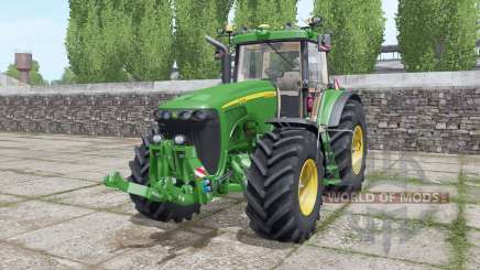 John Deere 8420 interactive control for Farming Simulator 2017
