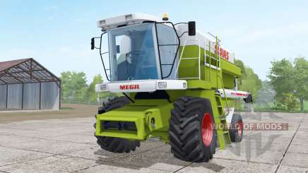 Claas Dominator 208 Mega wheels selection for Farming Simulator 2017