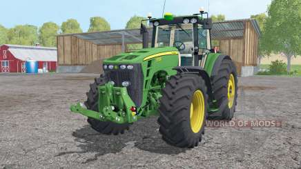 John Deere 8530 extra weights for Farming Simulator 2015