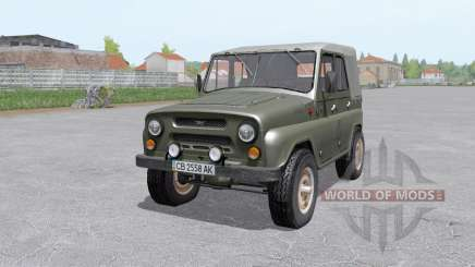 UAZ 469 1973 for Farming Simulator 2017