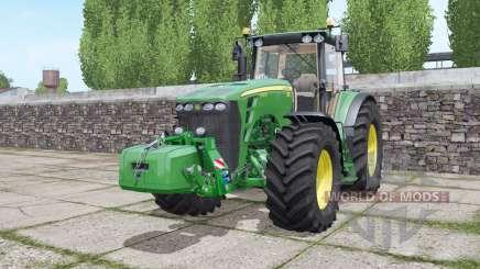 John Deere 8430 configure for Farming Simulator 2017