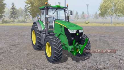 John Deere 7200R interactive control for Farming Simulator 2013
