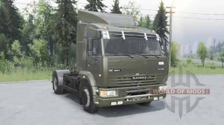 KamAZ 5460 for Spin Tires