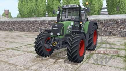 Fendt 820 Vario TMS løader møunting for Farming Simulator 2017