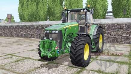 John Deere 8330 double wheels for Farming Simulator 2017