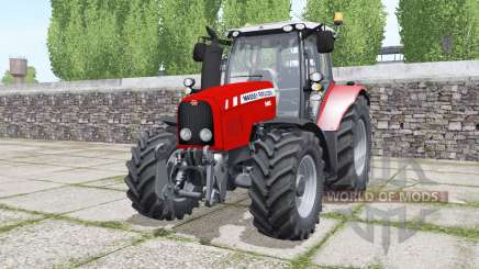 Massey Ferguson 5465 moving elements for Farming Simulator 2017