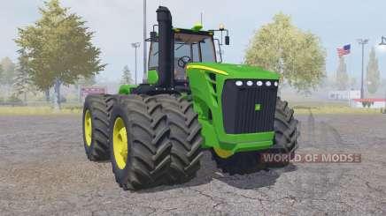 John Deere 9630 double wheels for Farming Simulator 2013