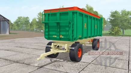 Aguas-Tenias GAT20 lime green for Farming Simulator 2017
