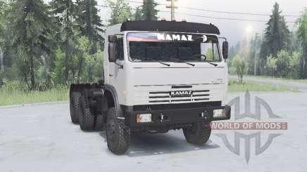KamAZ 54115 6x6 v1.1 for Spin Tires