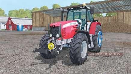 Massey Ferguson 5475 change wheels for Farming Simulator 2015