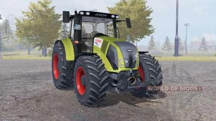 Claas Axion 850 dark moderate yellow for Farming Simulator 2013