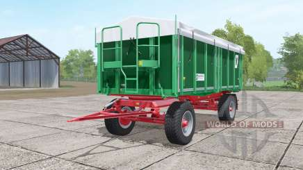 Kroger HKD 302 dark lime green for Farming Simulator 2017