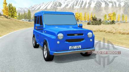 UAZ Antigenic for BeamNG Drive