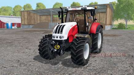 Steyr 6230 CVT strong red for Farming Simulator 2015