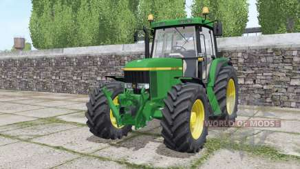 John Deere 6610 Standard Pipe design for Farming Simulator 2017
