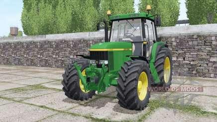 John Deere 6610 Standard Pipe design for Farming Simulator 2017