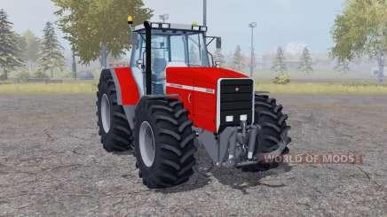 Massey Ferguson 8140 double wheels for Farming Simulator 2013
