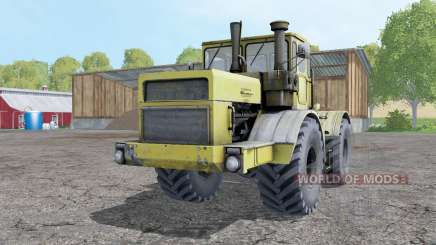Kirovets K-700A soft-yellow for Farming Simulator 2015