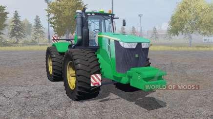 John Deere 9510R double wheels for Farming Simulator 2013