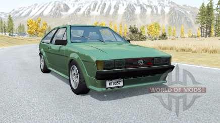 Volkswagen Scirocco GTX 1984 for BeamNG Drive