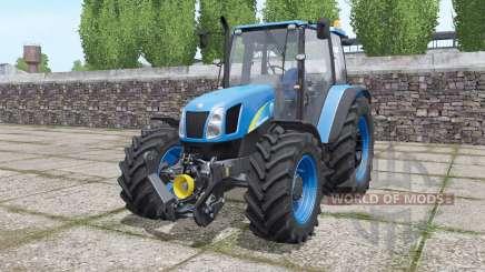 New Holland T5060 configure for Farming Simulator 2017