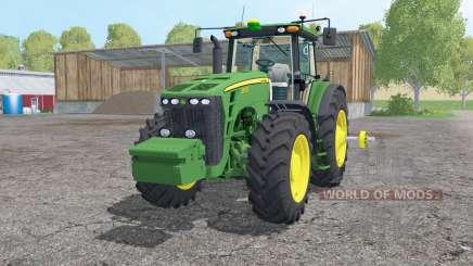 John Deere 8530 double wheels for Farming Simulator 2015
