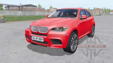 BMW X6 M (Е71) 2009 for Farming Simulator 2017