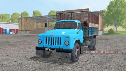 GAZ 53 4x4 silage for Farming Simulator 2015