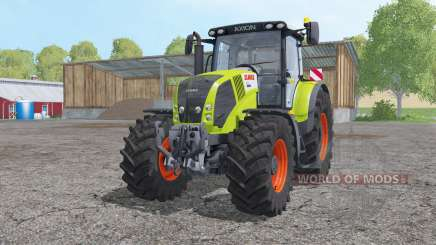 Claas Axion 850 extra weights for Farming Simulator 2015