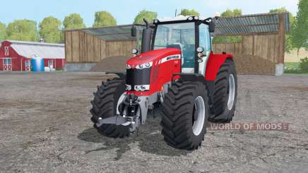 Massey Ferguson 7722 animation parts for Farming Simulator 2015