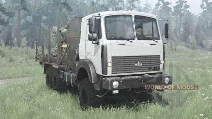 MAZ 6317 1991 for MudRunner