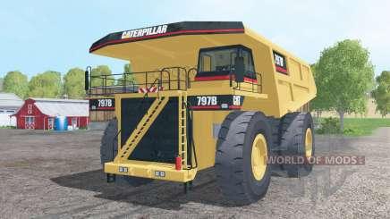 Caterpillar 797B 2002 for Farming Simulator 2015