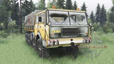 Tatra T813 TP 8x8 1967 winter v1.5 for Spin Tires
