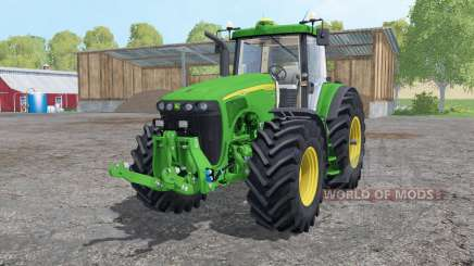John Deere 8520 extra weights for Farming Simulator 2015