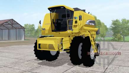 New Holland TC59 dual front wheels for Farming Simulator 2017