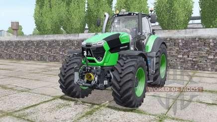 Deutz-Fahr Agrotron 9310 TTV real sounds engine for Farming Simulator 2017
