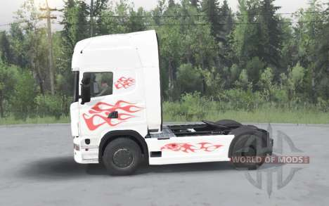 Scania R730 for Spin Tires