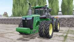 John Deere 9420R wheels selection for Farming Simulator 2017