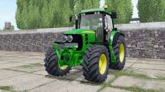 John Deere 7530 Premium extra lights for Farming Simulator 2017