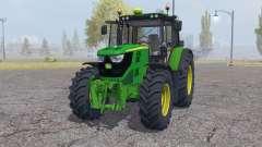 John Deere 6115M for Farming Simulator 2013
